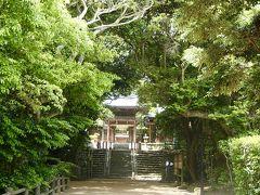 九州 :「宮地嶽神社」から 玄界灘 「志賀海神社」強き皇后の光の道をたどって。