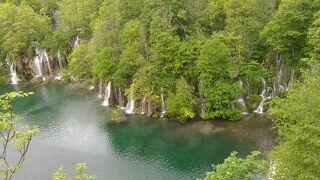 ツアーで巡る念願のクロアチア方面10日間 8日目 プリトヴィッツエ