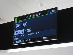 神戸空港スカイマーク搭乗記
