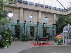 2015秋、旧名古屋市ランの館、久屋大通庭園フラリエ:9月12日:旧温室、庭園、庭園の池