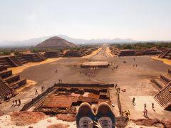 魅惑の国メキシコ一人旅(10)ティオティワカンで、太陽のピラミッドと月のピラミッドに登る&私の旅史上最大の大ボケ(^^;