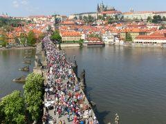 2016年5月:プラハ一人旅6日間3/3(街ぶらぶら編:石畳を歩き中世に浸っていると・・・プラハマラソンに遭遇)