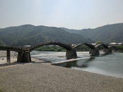 錦帯橋周辺を周る
