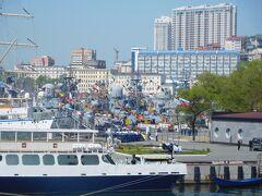 ウラジオストックも、坂の多い、美しい港町でした。日本から一番近いヨーロッパ!!