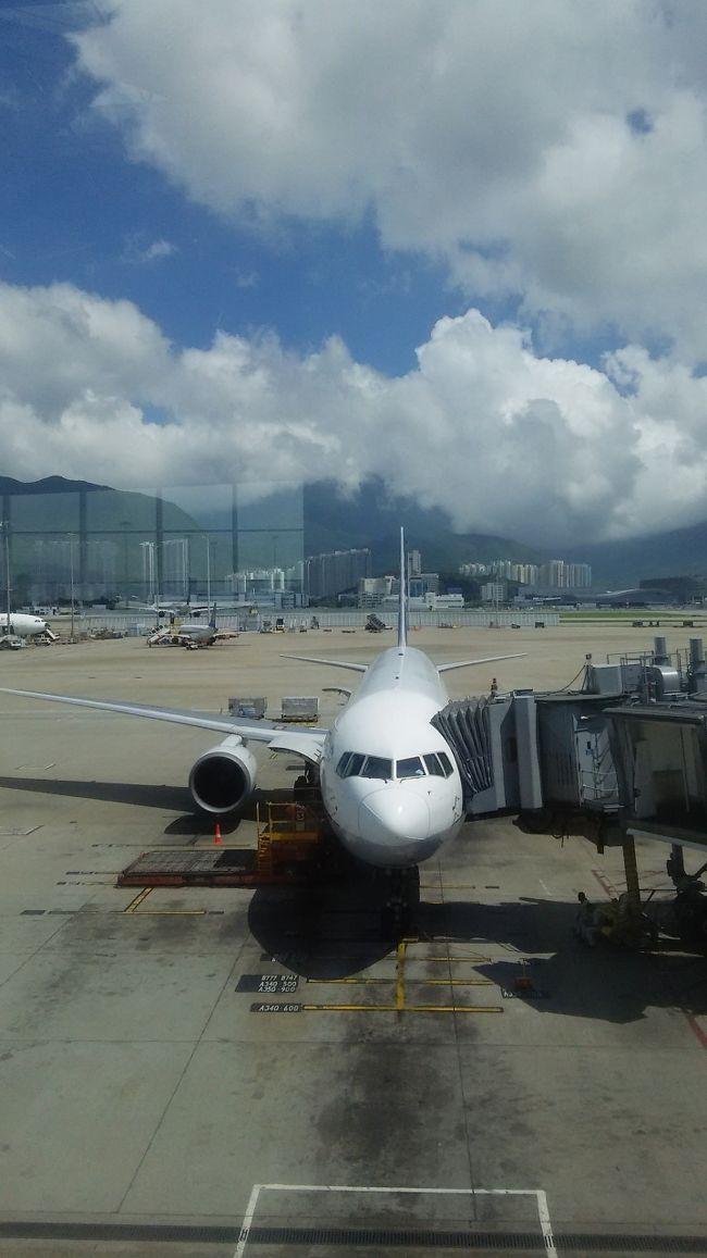 皮肉にも今日からの香港の天気は晴天なり。<br />Kimberley hotelから歩いて10分ほどでチムチャーチョイという町に出てA21の2階だてバスに乗り香港第一ターミナルにつきました。<br />みよ。<br />この晴天ぶりを。