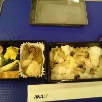 ANA 庄内 → 羽田 プレミアムクラス機内食
