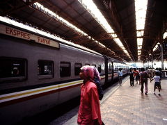 1987年年末マレーシア、シンガポール旅行(2) マレー鉄道