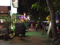 ランカウイ島旅行 1-2 パンタイチェナンの遅い街歩き&晩飯