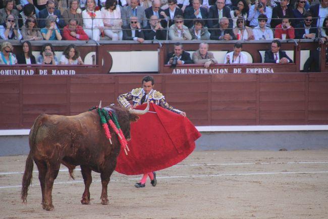 はじめてのスペイン旅行② マドリード(プラド美術館、闘牛) 2016年5月27日