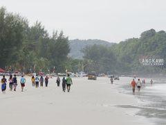 ランカウイ島旅行 2-1 パンタイチェナンのビーチを散歩