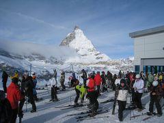 天空のスキーグレッシャーパラダイス