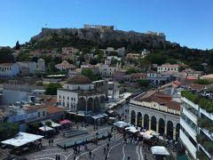 オーシャニア・リビエラ地中海クルーズvol.3 ギリシャの青い空とアクロポリスがとっても綺麗!!アテネに来てよかった!