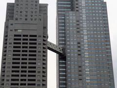 遊覧船4/5 隅田川 聖路加ガーデン・大川端リバーシティ21辺り ☆超高層ビルの新景観