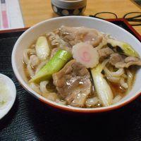 たまには「ベタ」な郷土料理1604  「加須うどん&塩あんびん」   ~加須・埼玉~