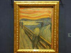 国立美術館でエドヴァルド・ムンクの「叫び」を聞く。やはりここは北国だった。