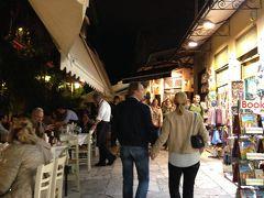オーシャニア・リビエラ地中海クルーズvol.6 史跡の街アテネ☆さぁ~夜の街に出かけてみましょう!
