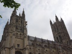 ウェールズと南イングランド周遊(57) カンタベリーの街歩き 中巻。 カンタベリー大聖堂。