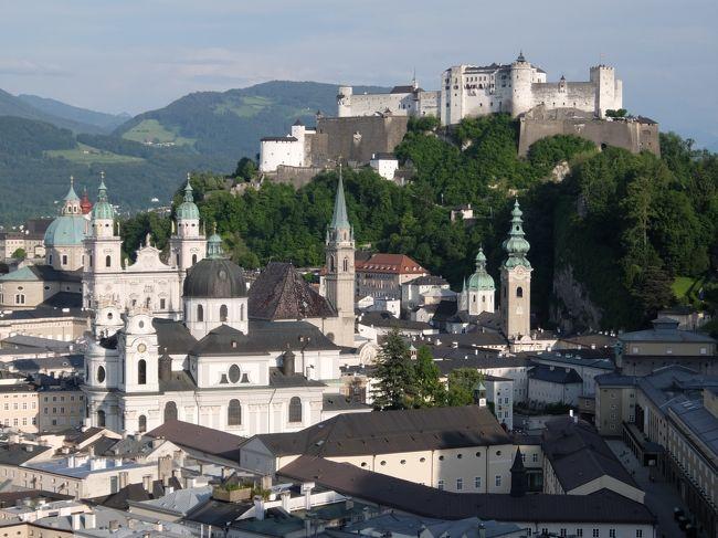 2016年 ドイツ・オーストリア旅行 ザルツブルク市内観光