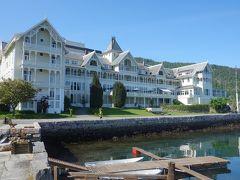 BalestrandのホテルはKviknes。歴史的なホテルです。有名人も宿泊したそうです。