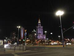 クラクフからPKPのインターシティとワルシャワのホテルと食事。
