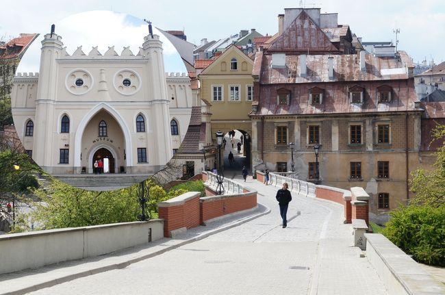 ポーランド7日目の4月28日(木)は、次に、10:58カジミエシュ・ドルヌィ(Kazimierz Dolny)〜12:00ルブリン(Lublin)のバスに乗り、ルブリンへ行きます。<br />ルブリンは古い街並みが戦前のまま残る味のあり、東方文化の香りを感じさせる都市です。郊外のマイダネクには、ナチス・ドイツによって建設されたルブリン強制収容所があります。
