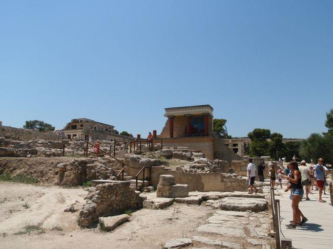 経済危機騒動後のギリシャ一人旅(4/8)アテネ~クレタ島