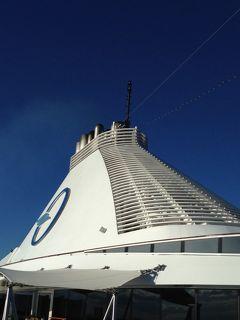 オーシャニア・リビエラ地中海クルーズvol.9 紺碧の空の下エーゲ海へ出航!☆この碧い空に出会いたかった!