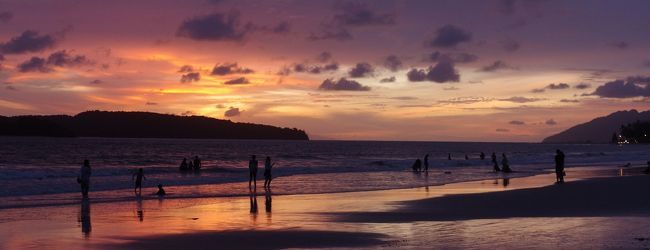 ランカウイ島旅行 2-5 ビーチは人を幸せ...
