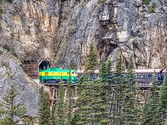 カナダ アラスカ スキャグウエイ ユーコン 鉄道