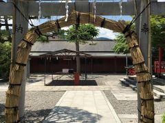 嵐山・嵯峨野にて夏越の大祓(茅の輪くぐり)車折神社~トロッコ列車
