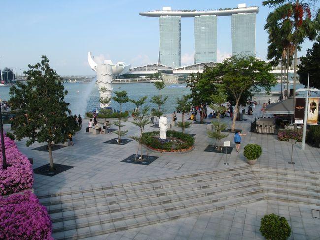 スリランカ一人旅+α(1/7)経由地シンガポール