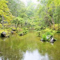 梅雨だからこそ美しい!モスグリーンに包まれた西芳寺(苔寺)&翠嵐ラグジュアリーコレクションホテル京都のアフタヌーンティー
