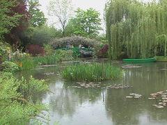(19)2004年GWフランス・モナコの旅10日間⑬ジヴェルニー(モネの家 と庭園 睡蓮 太鼓橋)