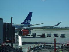 CPH-NRT SAS/SK0983 に乗りました。機材はA340でした。