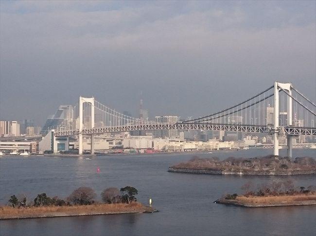 今は7月だけど・・・2月に初めて行った「ヒルトン東京お台場」について綴りたいっっ