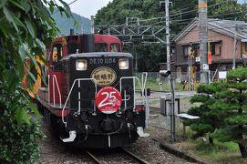 2016年6月京都鉄道旅行1(嵯峨野観光鉄道)