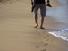 心身の癒しを求めてハワイへ☆縁(えにし)を紡いだ8泊10日☆~5日目膝のリハビリを兼ねてヒルトンからシェラトンまで砂浜を歩く ε=ε=ヘ(*-∀-)ノテヶテヶ&「ワイキキ建築状況」~