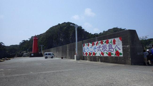 新島旅行記からの続きです。<br />船で新島から式根島に移動して、友人と合流して海遊びをしました。