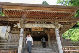 2016梅雨、東北のお寺巡り(14/22):7月1日(4):山形・立石寺(4):仁王門、最上公廟、奥の院、大仏殿