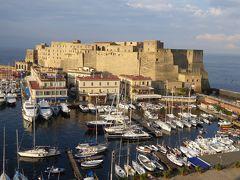 夏の優雅な南イタリア周遊旅行♪ Vol3(第2日) ☆Napoli:「Grand Hotel Santa Lucia」から朝の風景を眺めて♪