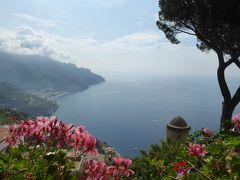 夏の優雅な南イタリア周遊旅行♪ Vol8(第2日) ☆Ravello:ラヴェッロの美しい庭園「Villa Rufolo」 咲き乱れる初夏の花♪