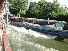 "JALでバンコク 今年3度目-その3- (Khlong Saen Saep Express Boat""完乗"")「Thip Samai」パッタイ・ホーカイ"