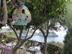 夏の優雅な南イタリア周遊旅行♪ Vol14(第2日) ☆Conca dei Marini:絶景のリストランテ「Calajanara」 優雅なランチ♪