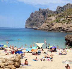 団塊夫婦の2016年スペイン旅行ー(15)魅惑のマジョルカ島ドライブ4:カラ・セイント・ヴィセンテの美しいビーチ&ホテルでリゾート気分