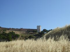 夏の優雅な南イタリア周遊旅行♪ Vol41(第4日) ☆Lucera→Pietramontecorvino:朝の美しい黄金色の麦畑の中を走る♪