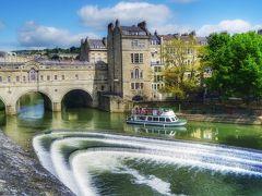 英国の春☆ゆっくり一人旅2016 【13】 お風呂(bath)の起源となった街『バース』へ