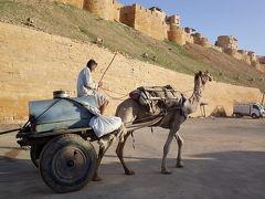寝袋を乾かしに、砂漠の町・ジャイサルメールへ!