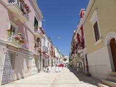 夏の優雅な南イタリア周遊旅行♪ Vol73(第5日) ☆Manfredonia:マンフレドニア旧市街は可愛らしい♪