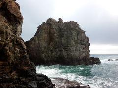 南紀白浜の旅、観光編。 2日目は市バスで観光地巡り。三段壁、千畳敷、円月島の景勝地を愛でる。