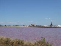 夏の優雅な南イタリア周遊旅行♪ Vol80(第5日) ☆Margherita di Savoia:マルゲリータ・ディ・サヴォイアの美しいピンク色の塩田♪